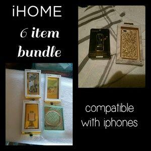 iHOME 6item bundle